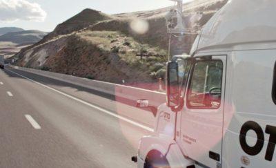 otto driverless trucks