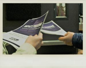 Sponsor Information in brochures