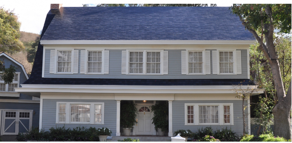 Desperate Housewives Home with Tesla Solar Roof Tiles