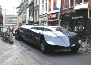 The Superbus project, led by Dutch astronaut professor Wubbo Ockels of the Delft University of Technology until his death in 2014 envisages a comfortable, demand-dependent door-to-door transportation rivaling the car and the train.