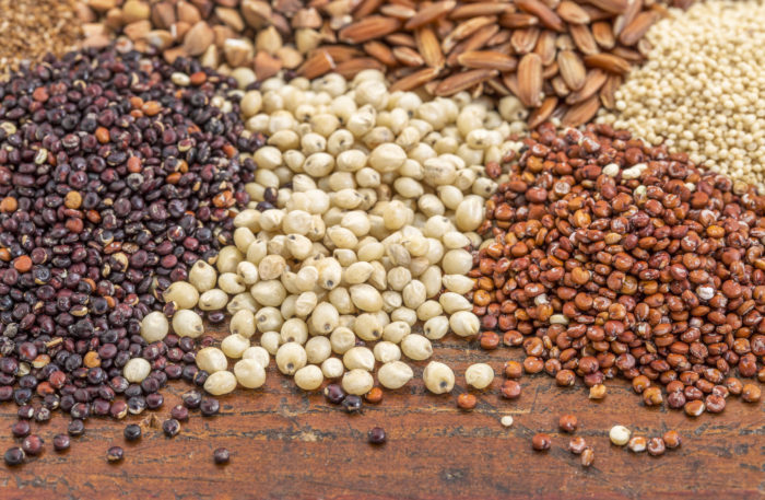 Ancient grains - food preferences - quinoa