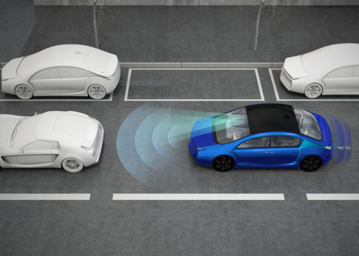 Developing sensor technology for self-driving cars