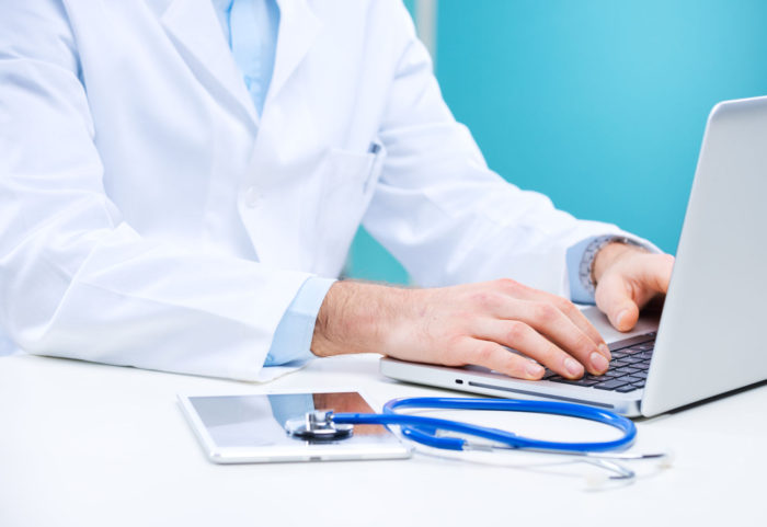 Digital healthcare - online access