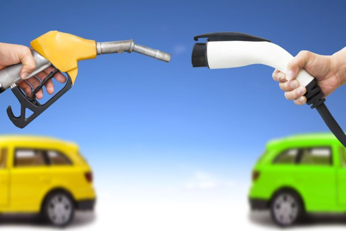 vs hybrid vs electric cars - transportation