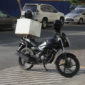 Fast delivery using motorcycles as part of the new transportation algorithm based software