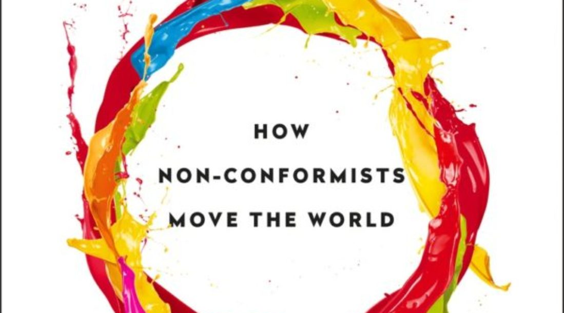 "The cover of the book, ""Originals:  How Non-Conformists Move the World"""