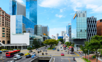 Singapore traffic – Uber competition