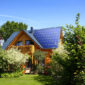 Solar Rooftops Generating Power