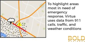 Using data to help predict where emergency response is needed
