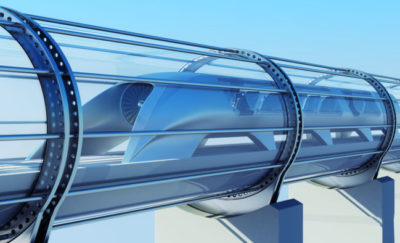 Hyperloop Transportation technologies Rail Concept
