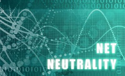 artistic illustration of net neutrality rules