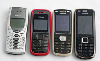 Retro technology – Nokia phone