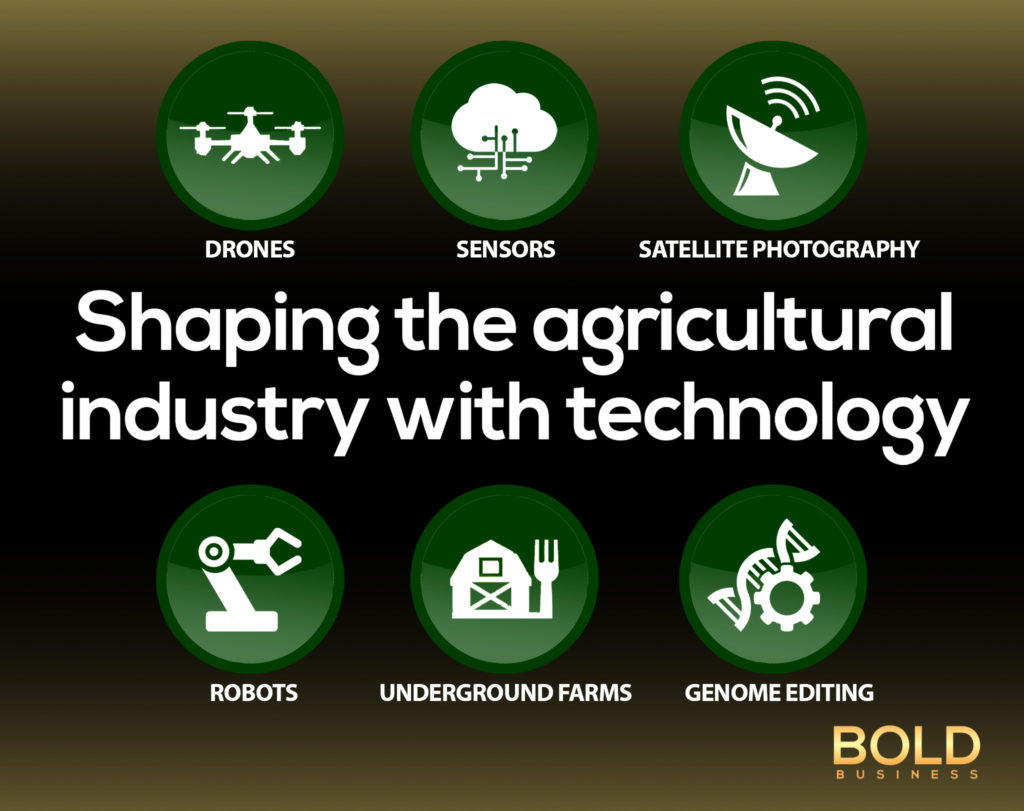 Agricultural technology improves the lot of farmers