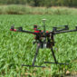 Drones support farming - agricultural technology