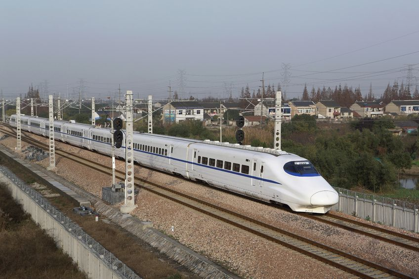 China infrastructure plans takes off