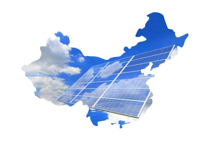 Solar energy powering US and China