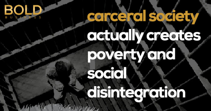 infographic showing what a carceral society can cause amid the discussion on mass incarceration in the US