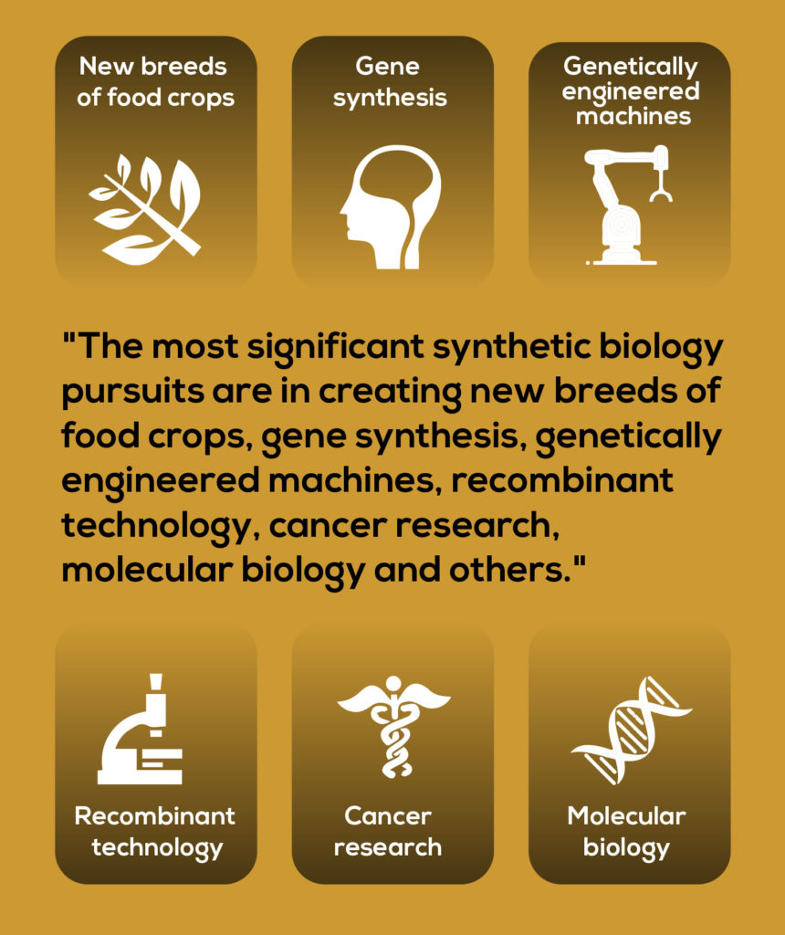 Synthetic Biology for new food crops, research, genetics