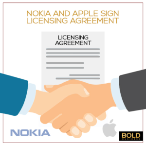 Nokia and Apple end Patent Battle