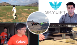 Caltech and SkyLift Heavy Lift Drone meets DARPA challenge.