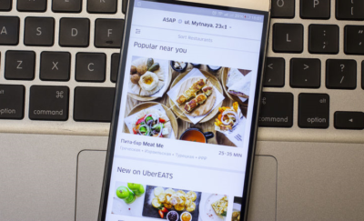 UberEATS set to capture market share from Eatonomics.
