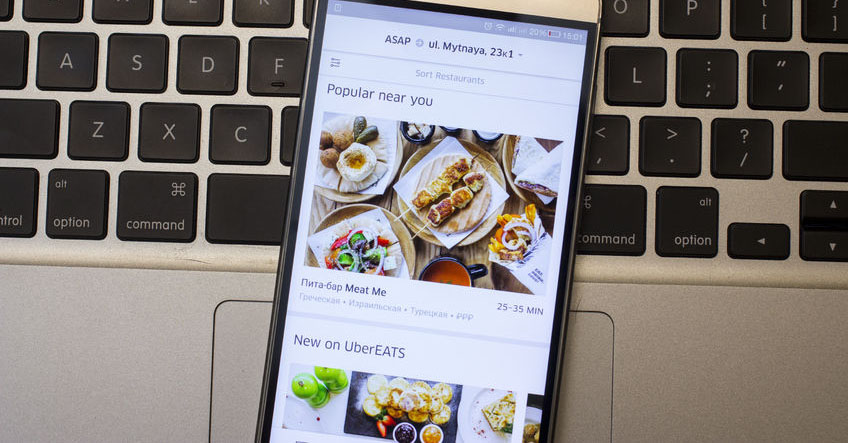 UberEATS set to capture market share from Eatonomics.
