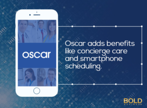 Oscar uses big data to provide better healthcare.