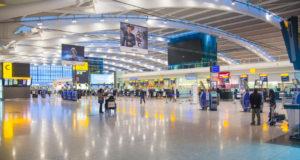 heathrow airport terminal in the UK