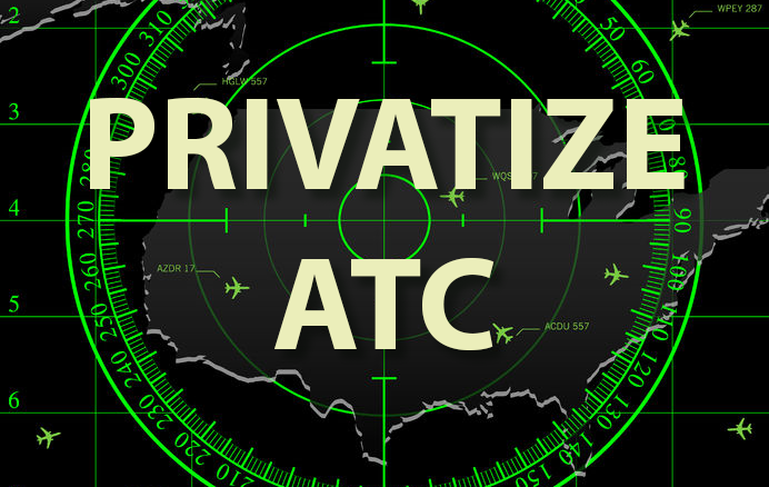 Safer Travel will result from privatized Air Traffic Control