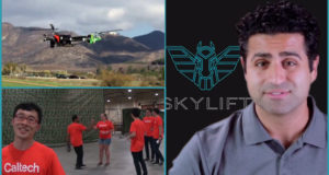 SkyLift and Caltech on DARPA drone challenge