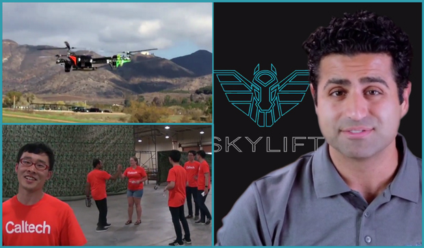 SkyLift and Caltech on DARPA heavy lift drone challenge