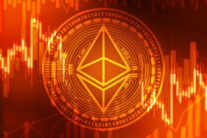 Picture of the Ethereum logo.