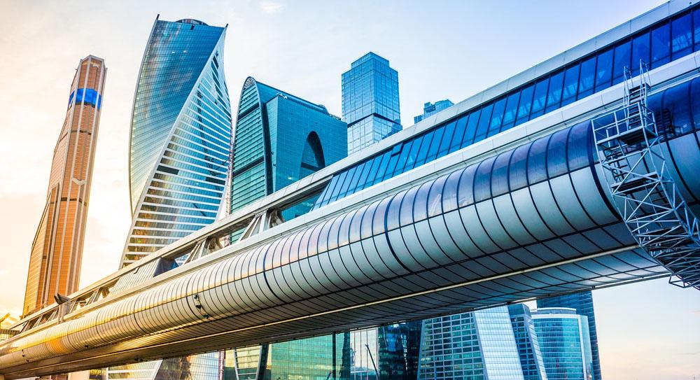 Futuristic city envisioned