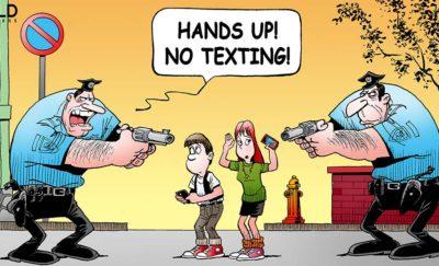 No Text and Walk
