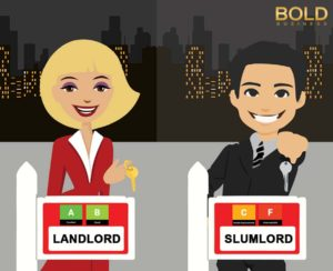 Rent rating system: The difference of Two landlords