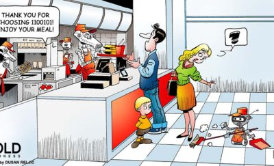 Robots Take Over Fast Food