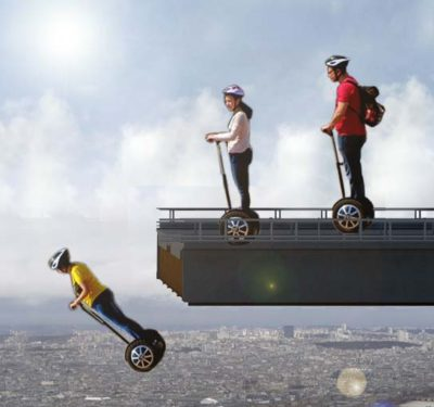 Segway hack, issues for driverless cars