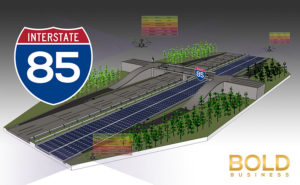 sustainable roads, I 85 road picture