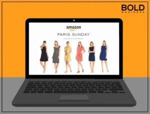 Fashion plate of Amazon Private Label Brand