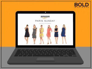 Fashion plate of Amazon Private Label Brand