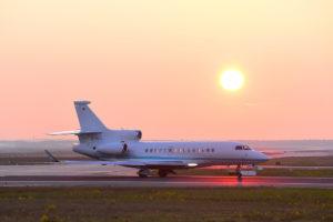 Dassault plane on ground.