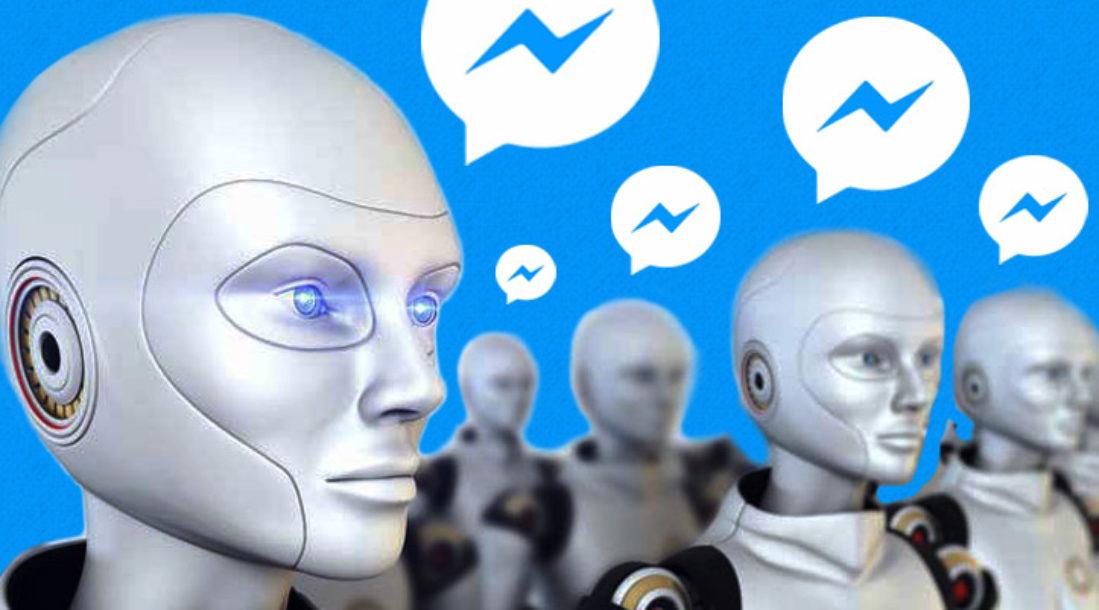 Chatbots Illustration for Facebook AI Experiment