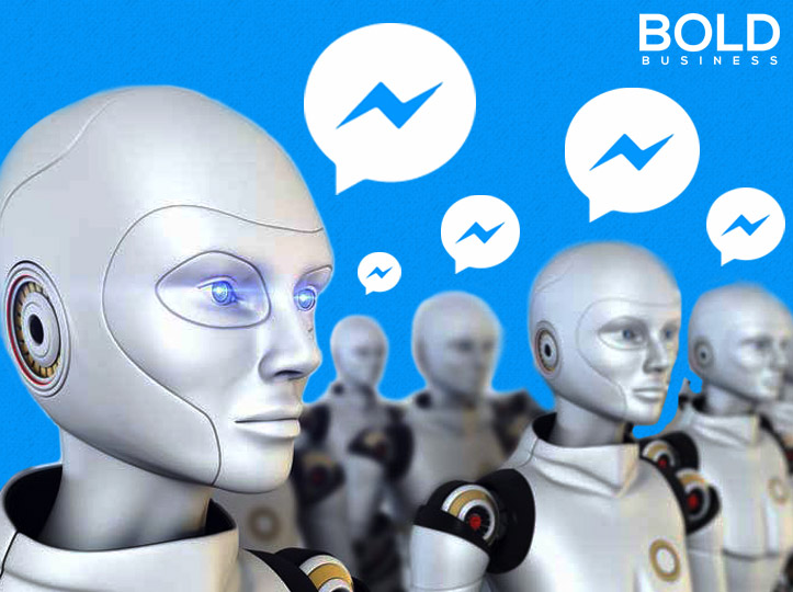 Chatbots Illustration for Facebook AI Experiment