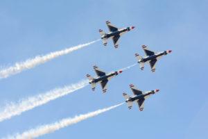 Lockheed Martin supersonic jets.
