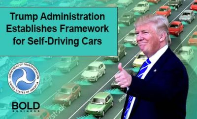 Trump self driving cars.