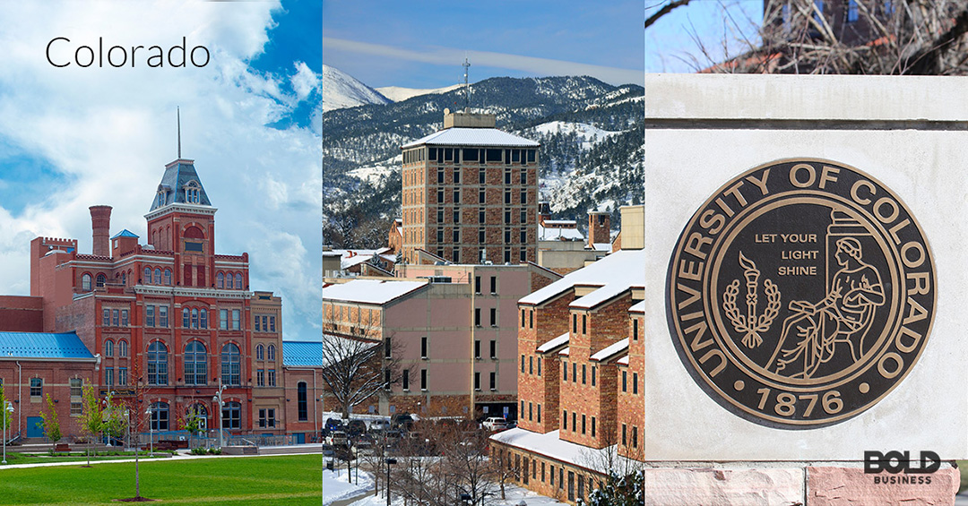Colorado is part of Bold Business' list of states ranked by education quality