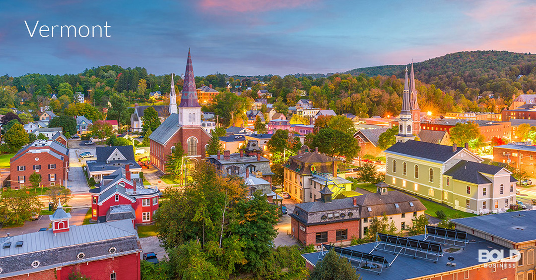 Vermont is part of Bold Business' list of states ranked by education quality