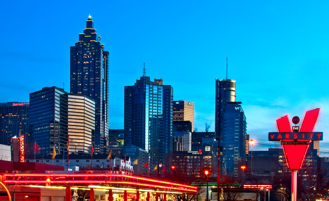 Atlanta - Most Progressive Smart Cities