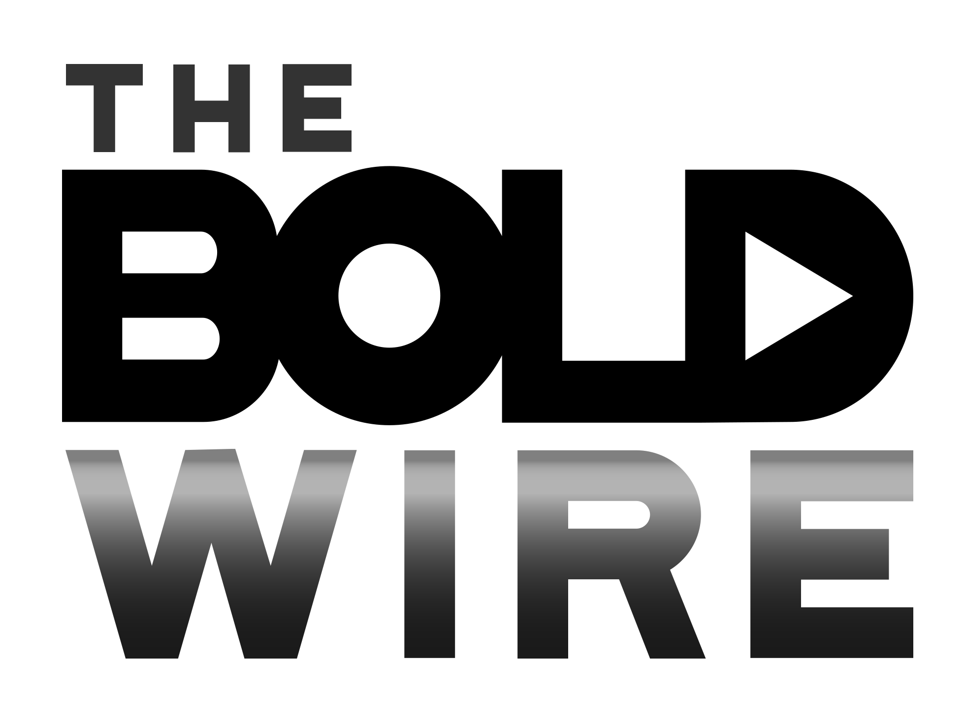 black and white logo of Bold Wire for Bold Business