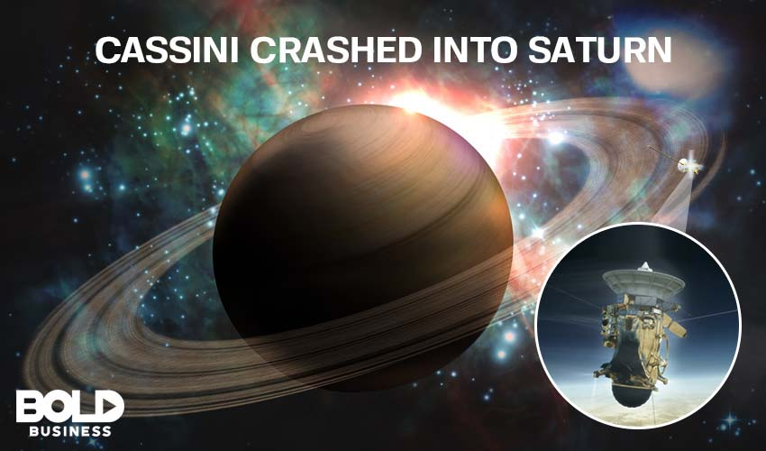NASA Crashes Cassini Into Saturn To Save Its Moon